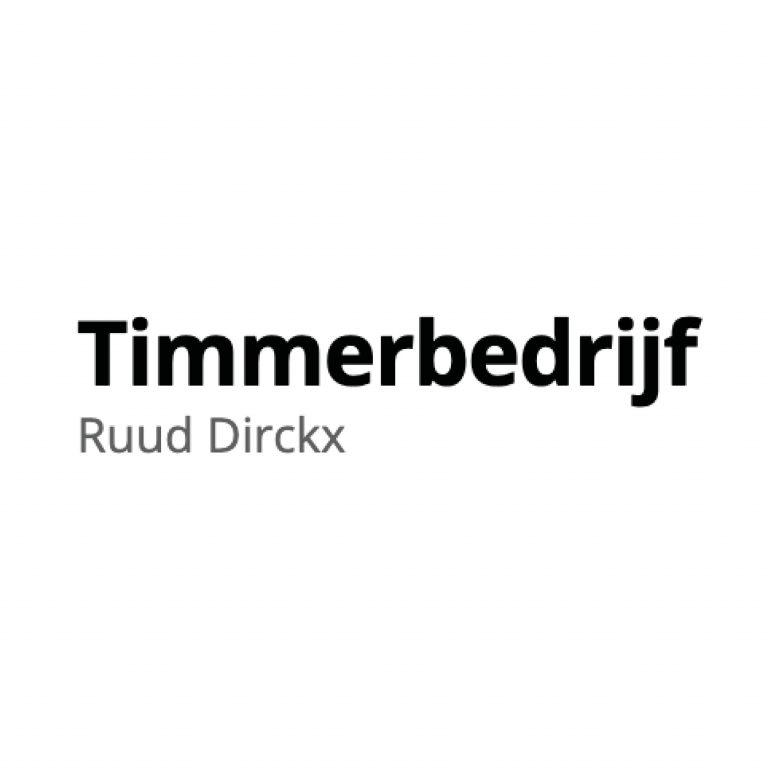 Timmerbedrijf Ruud Dirckx